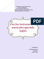 Guia Didactica, Musical Instruments