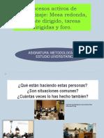 Mesa Redonda, Debate