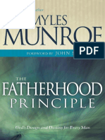 Fatherhood Principle - Myles Munroe