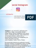 Instagram, Exposicion Redes Sociales