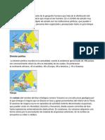 División Geográfica
