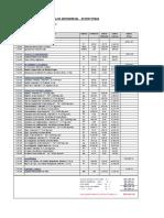 Analisis de Costos Unitarios Modificado