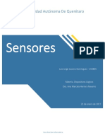 Clasificación de Sensores