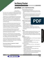 Air Compressor Terminology
