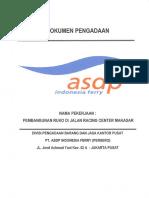 Dok Pengadaan Pembangunan Ruko Di Makassar