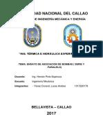 informe 2 termica