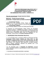 Edital n 0212016 Do Processo Seletivo 2017 1 de Mestrandos e Doutorandos (2)