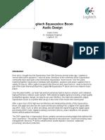 Logitech Squeezebox Boom Audio Design