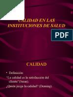 Calidad en las instituciones de Salud.ppt