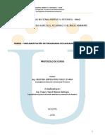 Protocolo Curso de Implementacion Saneamiento Ambiental
