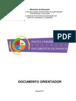 Pacto Universitário Para Educação Em Direitos Humanos - Documento Orientador