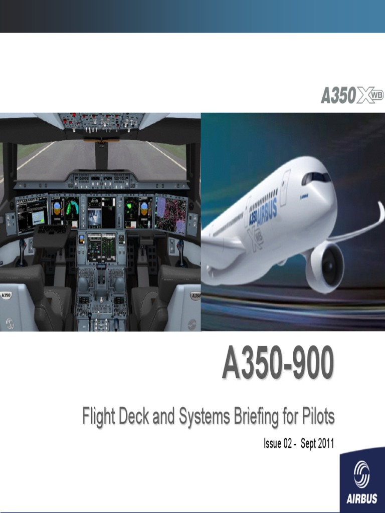 a350-900-flight-deck-and-systems-briefing-for-pilots-1 pdf | Cockpit