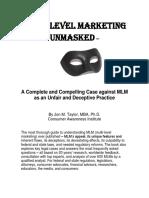 MLM Unmasked