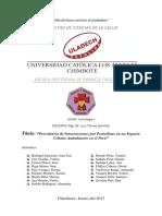 Seminario Prevalencia de Intoxicaciones Por Penicilinas en Un Espacio Urbano Ambulatorio_Toxicología II