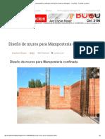 Diseño de Muros Para Mampostería Confinada _ Licencias de Construccion Bogota -- Colombia - Tramites Curaduria