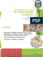 POSTIVISMO JURIDICO