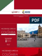 Necesidades Jurídicas en Colombia - Simón Gaviria