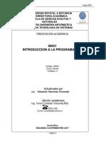 Introducción a La Programación 00831(B2)