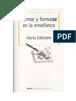 Edelstein - Formar y Formarse en La Enseñanza-cap.5