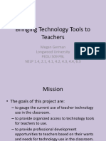 bringing technology tools to teachers presentation for pbl