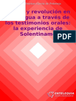 DUEÑAS, I., Iglesia y Revolución en Nicaragua a Través de Los Testimonios Orales La Experiencia de Solentiname. 2013