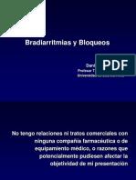 Bradiarritmias y Bloqueos
