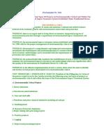 Proclamation 2146 Enviro