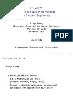 0_introduction pdf   Linear Algebra   Numerical Analysis