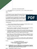 Res. CD.120 09.Honorarios Contador Público