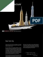 LEGO 21028 New York Map