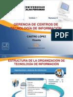SEMANA 04 Estructura de La Organizacion TI