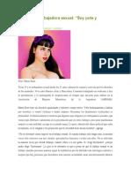 María Riot Soy Puta y Feminista