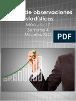 Proyecto Integrador Análisis de Observaciones Estadísticas M17S4