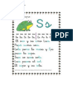letra s y p