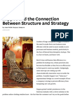 Zappos and the Connection Between Structure and Strategy