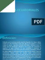 CLIMAS ECUATORIALES1