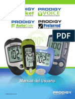 Prodigy Spanish Combined Meter Manual