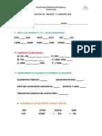 Evaluación de Proceso 1º Semestre 2016 5º-6º