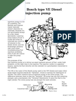 Perkins Diesel Injector Pump Troubleshooting