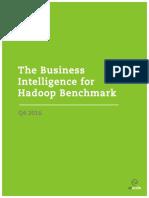Benchmark BI-On-Hadoop Performance Q4 2016