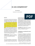 Attewell - Que Es Competencia - What is Skill