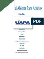 Psicologia Clinica Tarea#1