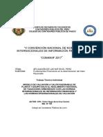MODELO DE VALUACIÓN A VALOR RAZONABLE DE PLANTA Y EQUIPO BAJO EL REGLAMENTO NACIONAL DE TASACIONES ARMONIZADO CON LAS NORMAS INTERNACIONALES DE INFORMACIÓN FINANCIERA Y LAS NORMAS INTERNACIONALES DE VALUACIÓN