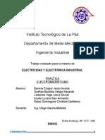 Practica Electromagnetismo