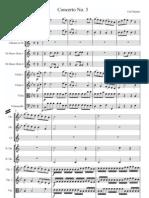 Stamitz Carl Clarinet Concerto No3 Full Score