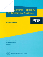 001 Ethan Akin the General Topology of Dynamical Systems