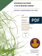Las Normas Bioeticas Del Colegio Medico Del Perú