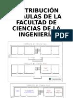 DISTRIBUCIÓN DE AULAS DE LA FACULTAD DE CIENCIAS.odp