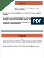 Familia (Derecho)
