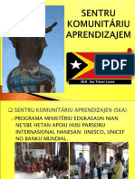 Remegio Alquitran (UNESCO) Presentation on the Community Learning Centres (Tetum)